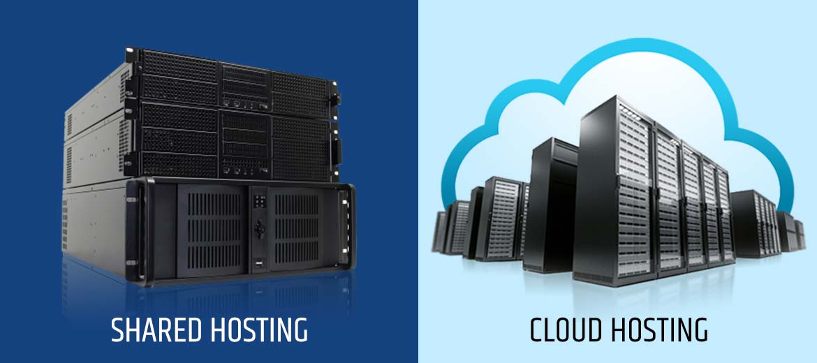 Cloud Hosting is better than Shared Hosting